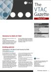 VTAC Gazette Feb 2016